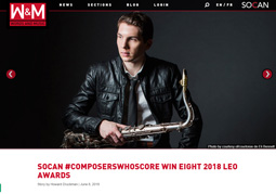 Socan Magazine Words & Music