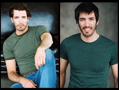 Jonathan Silver Scott and Drew Scott