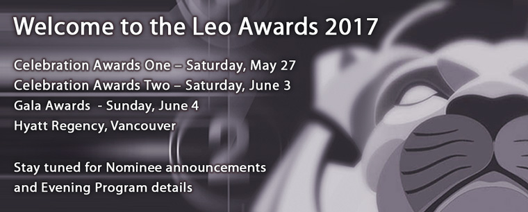 Welcome to the Leo Awards 2017!