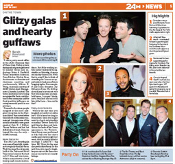 Glitzy Galas and Hearty Guffaws - Name that Actor