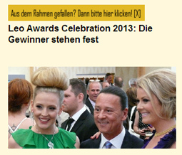 Leo Awards Celebration 2013: Die Gewinner stehen fest