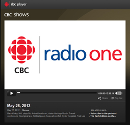 CBC Radio One - The Early Edition