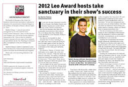 WEVancouver, Leo Awards 2012: Hosts take sanctuary in their shows success