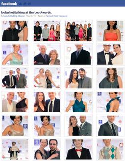 Facebook Gallery - lookwhoStalking at the Leo Awards
