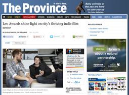 Leo Awards shine light on city's thriving indie film scene