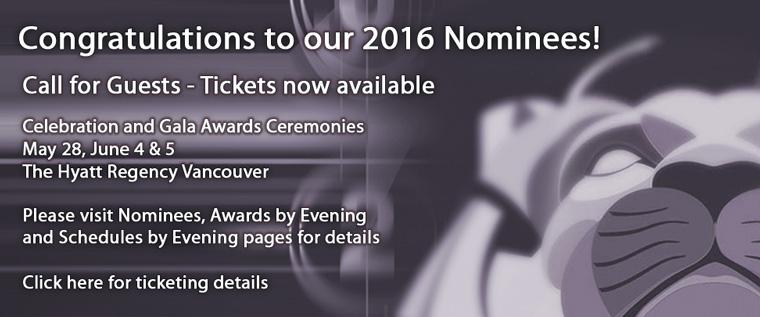 Congratulations Nominees 2016!