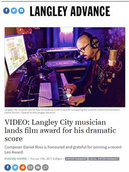 Langley Advance: Video, June 15, 2017