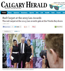 Red Carpet at the 2013 LEO AWARDS