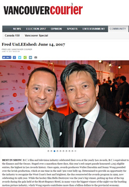 Vancouver Courier: Fred UnLEEshed: June 14, 2017