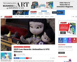 2021 Leo Awards: Animation & VFX Winners