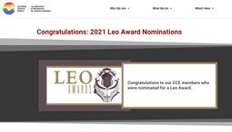 Congratulations: 2021 Leo Award Nominations