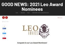 GOOD NEWS: 2021 Leo Award Nominees